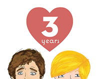 Year Three (His&Hers)
