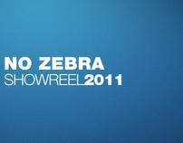 No Zebra Showreel 2011