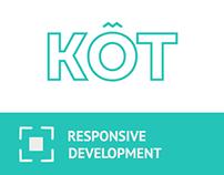 KOT UX/UI Design and Site Development