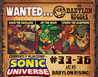 Ad Design: Sonic & Megaman (Archie Comics)