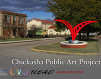 Chickasha Public Art Poster - June 2010
