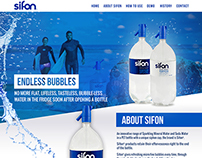 Sifon Water - Website Design