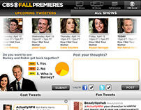 CBS Fall Premieres Tablet App