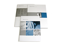Nielsen NetRatings folder and brochure