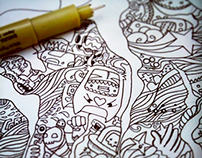 ~DOODLE PLAY~ - A Doodle Art Project