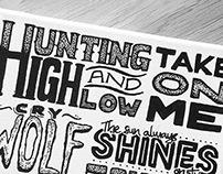 Typographic Canvas - A-ha