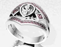 3D jewellery cad design