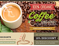 Organic Coffee Website