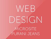 Microsite - Purani Jeans