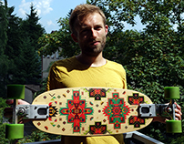 FLYING CARPET / longboard sticker