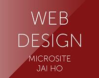 Microsite - Jai Ho