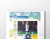 FIFA World Cup : Website Re-design