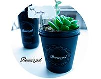 Flower's pot - The recycle Flowerpot brand