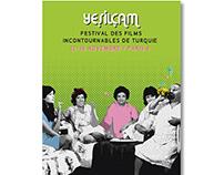 Yesilcam Paris poster design