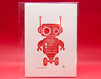 Robot Linoprints