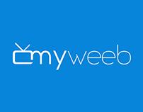 """Logo dla aplikacji """"myweeb"""""""