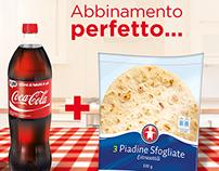 Coca Cola + Piadina