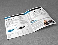 Business Showcase A4 Bi-Fold Brochure