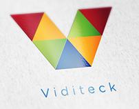 Viditeck Logo Design