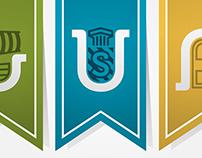 Unistudenti // Brand + sub-brands design