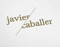 Corporate Identity & Card for Javier Caballer