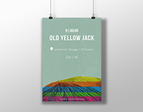 Old Yellow Jack - Concert poster