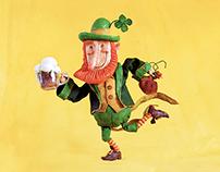 Leapin' Leprechaun Ale Mascot