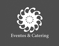 Web page for Eventos & Catering