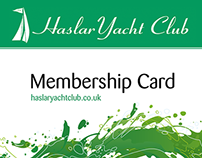 Haslar Yacht Club Membership Cards
