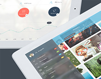 OS 8 Quality - UI for Tablet - Part 1 - Download PSD