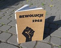 "Book design ""Rewolucje 1968"""