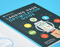 "Whitepaper Cover #1  ""Landing Page Opitimization Guide"""