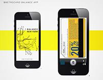 Metrocard Balance App