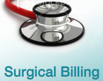 Surgical Billing iPhone App - UX Wireframe / Rough Comp