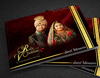 Ritu and Vaibhav Photo book