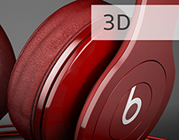 Beats Solo HD - Non commercial - 3D Work
