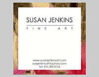 Susan Jenkins Fine Art Business Card