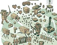 Creative Careers: Video Game Designer Illustrations