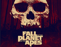 Fall of the Planet of the Apes - Poster