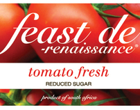 Feast-de-Renaissance Tomato Fresh Label