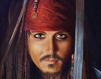 JOHNNY DEPP - JACK SPARROW