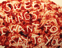Sweet things I want to say to you.