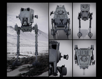 ATST  (All Terrain Scout Transport) From Empire Strikes