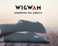 Wigwam Socks Advertising