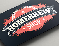 Homebrew Shop - Branding