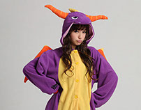 Spyro Adult onesies Royal dragon