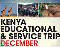 Kenya Trip Flyer Card