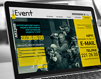 Landing Page «Event Envoy»