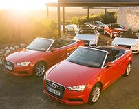 Audi A3 Cabriolet Media Launch, Southern Ocean Lodge.