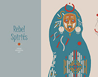 Rebel Spirits. Tribal elements set